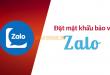 Cách đặt mật khẩu bảo về Zalo